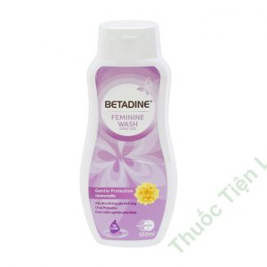 Betadine Feminine Wash Gentle Protection Immort 100ML